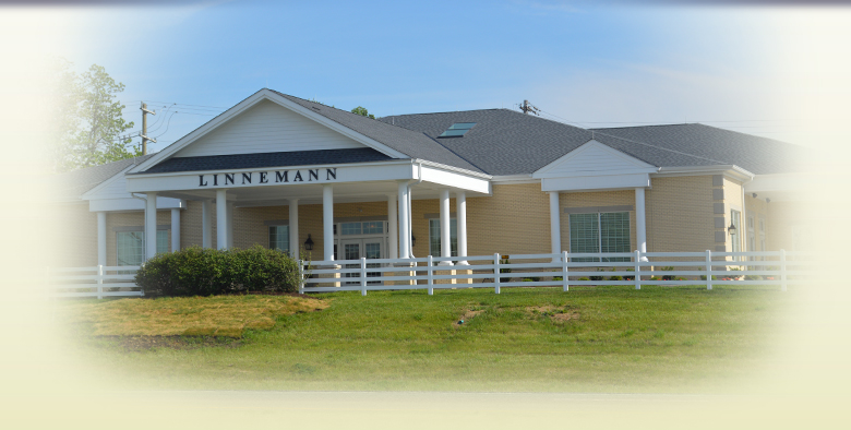 The front on Linnemann Funeral Homes's Boone County location